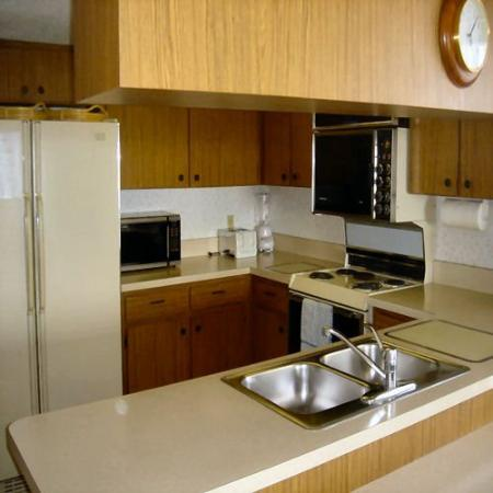 Beach Place Condos at John's Pass Village: Kitchen
