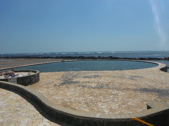 Royal Decameron Salinitas: The salt water pool!