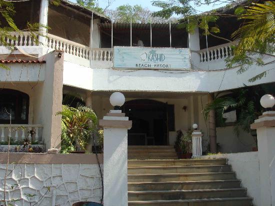 Kashid Beach Resort: reception