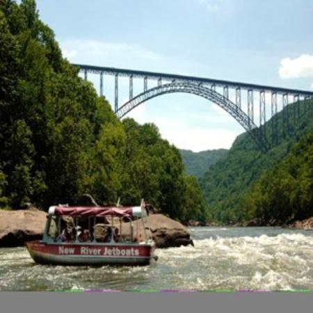 New River Inn : Jetboat Bridge Photo No Credit Needed