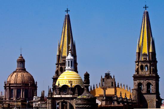 Vista desde nuestro Junior Suite en el Hotel de Mendoza Guadalajara