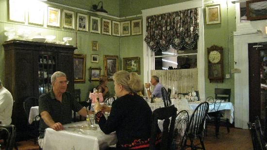 Cotillion Southern Cafe: Interior View of the Restaurant
