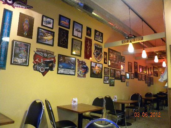 Hot Rod Dogs Wall Decor
