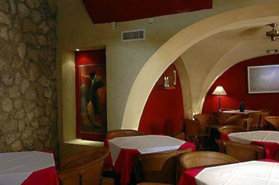 Hotel Las Palomas De Santiago: Restaurant