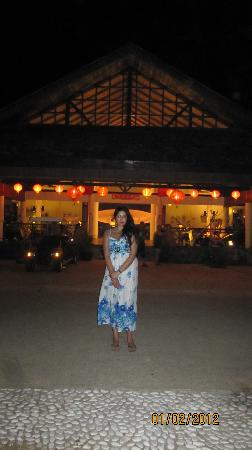 Vivanta by Taj Rebak Island, Langkawi: Outside the main restaurant area