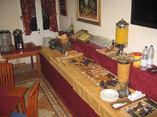 Hotel Camargo: desayuno bufet
