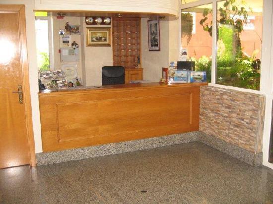 Hotel Camargo: recepción