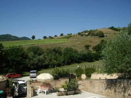 Ristorante Albergo Nene: Views of surrounds from pool area