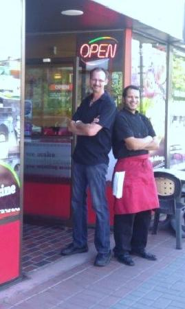 Margherita's Pizza: Spence and Mike :)