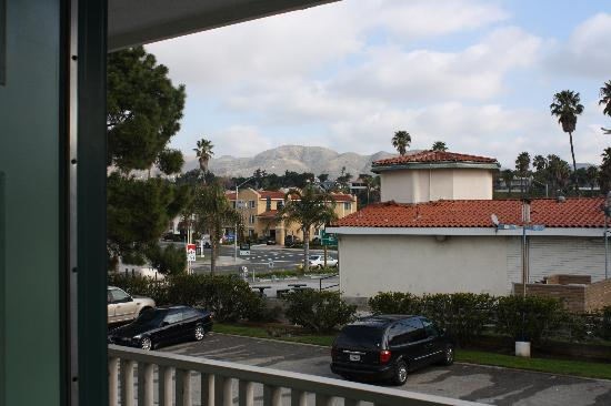 Motel 6 Ventura Beach: View from our door - in February!