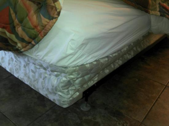 Green Cove Springs Inn: Bed is broken