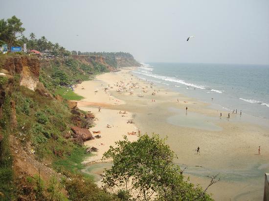 The Gateway Hotel Janardhanapuram Varkala : The beautiful beach