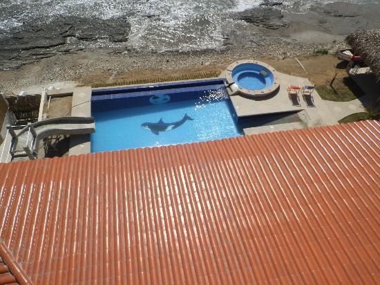 Villa de Los Suenos: View of Pool From Grand Terrace