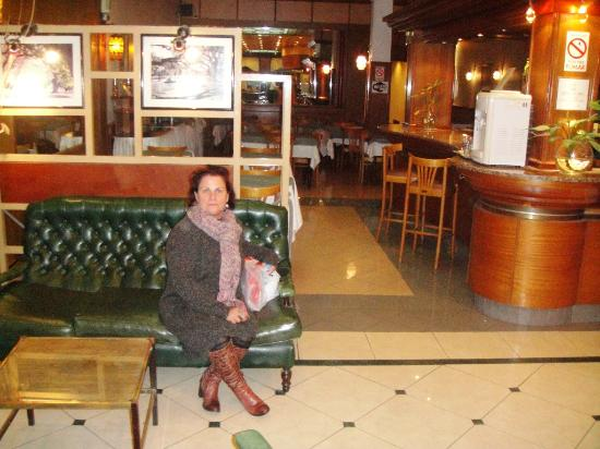Gran Hotel de la Paix: Na recepção do hotel
