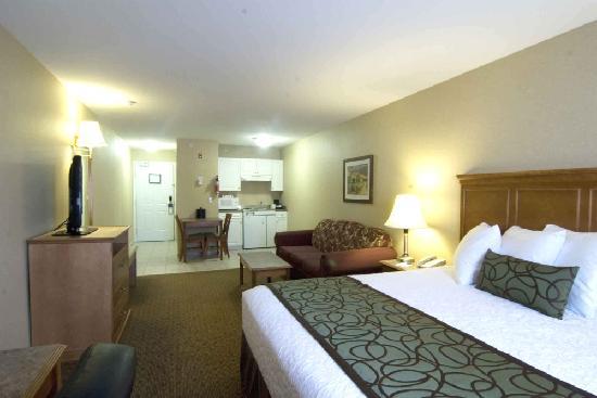 Best Western Plus Sunrise Inn: King Room with Kitchenette