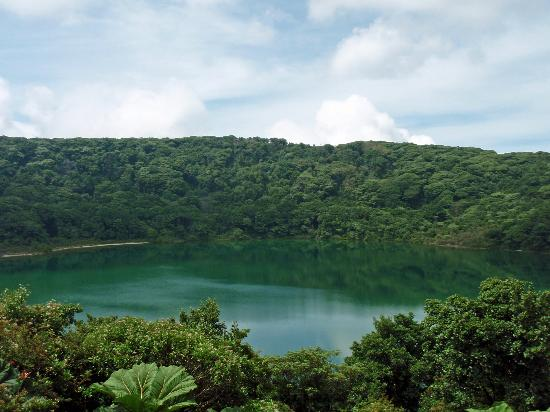 Poas Volcano National Park, Costa Rica: The lagoon