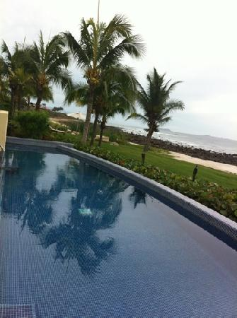 The St. Regis Punta Mita Resort : our very own private lap pool... and heated if required!