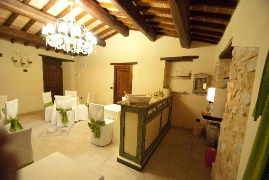 Palazzo del Papa: Sala colazione