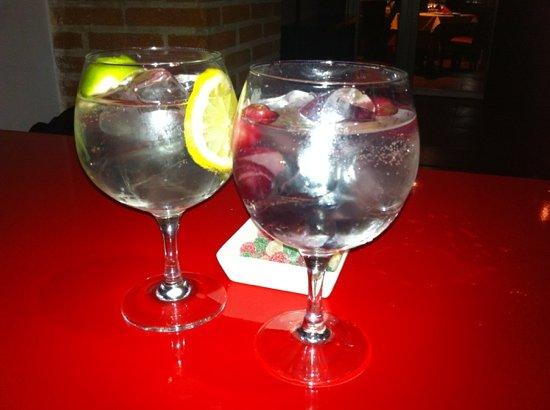 Caramel Lounge: gin-tonics después de cenar