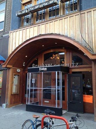 Photo of Restaurant Brauhaus Schmitz at 718 South St, Philadelphia, PA 19147, United States
