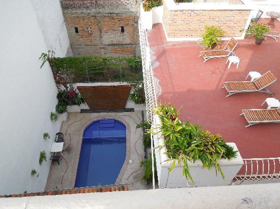 Hotel Hacienda de Vallarta Centro : pool