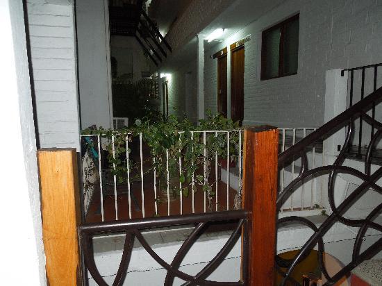 Hotel Hacienda de Vallarta Centro : stairs