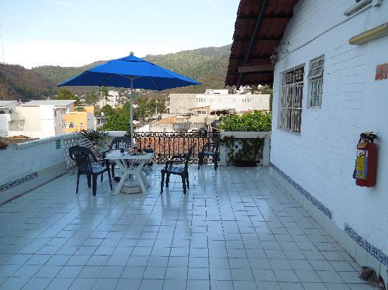 Hotel Hacienda de Vallarta Centro : patio