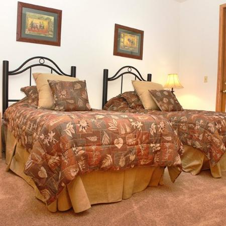 Meadows at Eagleridge: Twin Bedroom