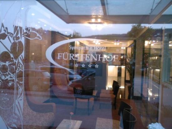 Sympathie Hotel Fürstenhof: Entrance