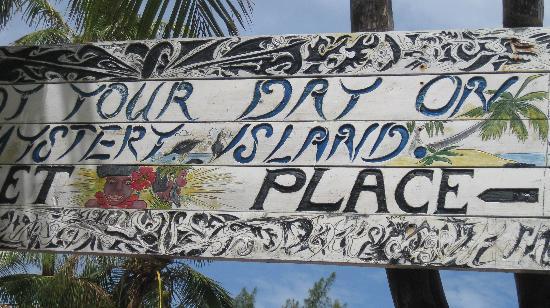 Mystery Island : Rustic beauty