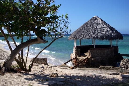 Islazul Villa Don Lino : The quieter part of the beach.