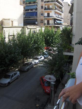 Centrotel Hotel: vue vers la droite du balcon