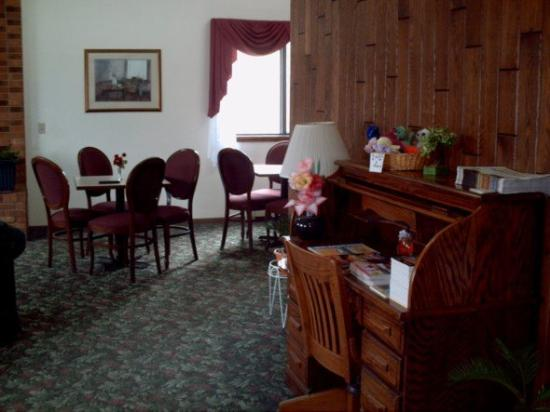 American Motel : Interior