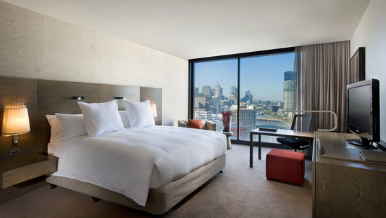 Hilton Melbourne South Wharf: City View Room