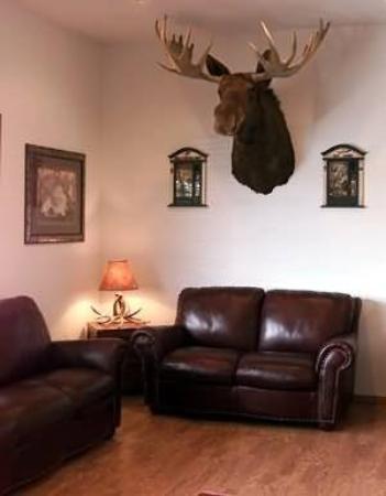 Bullwinkles Rustic Lodge : Interior