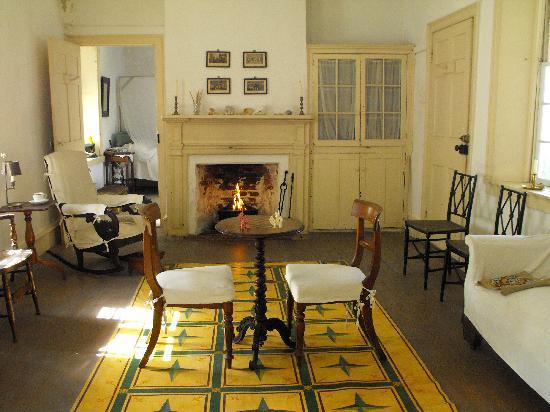 The Ximenez-Fatio House: The downstairs private parlor