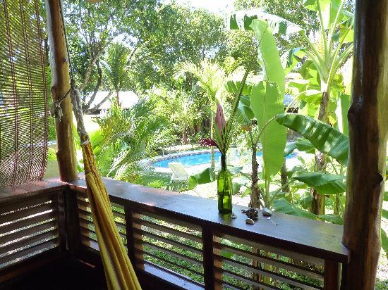 Hotel Luz de Luna : balcony with hammock