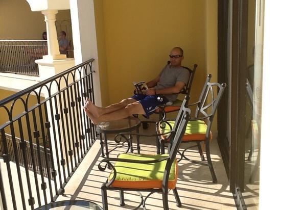 Hilton Los Cabos Beach & Golf Resort: part of 5014 balcony