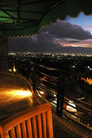 Balcony overlooking bandung at night picture of the for Balcony at night