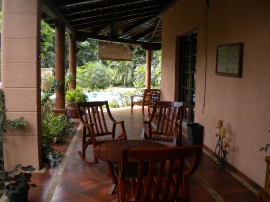 Hotel Boutique Villa Maya: Patio View-2