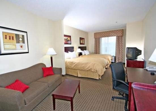 Comfort Suites Clayton: Guest Room