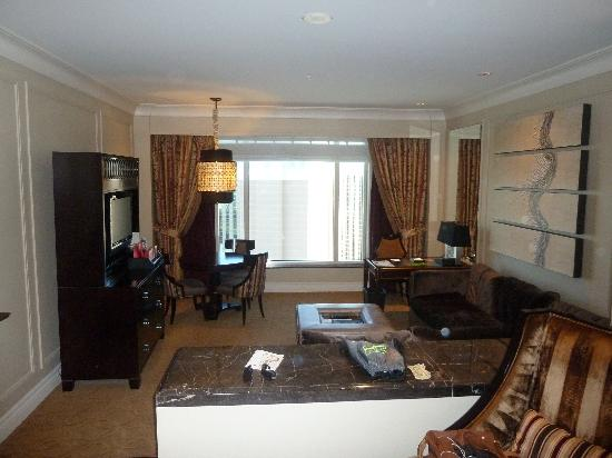 The Palazzo Resort Hotel Casino: our suite