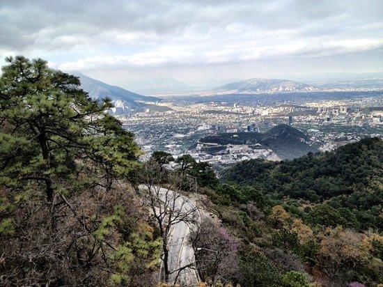 Monterrey, México: mirador chipinque