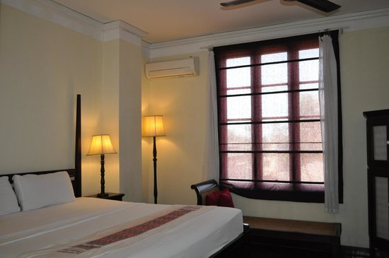 Hotel Khamvongsa: the double room