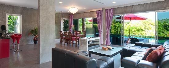 Pura Vida Villas Phuket : Living Area