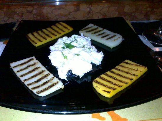 Taverna Ciardi : Baccalà Mantecato con polenta