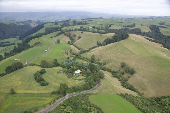 Kamahi Cottage & homestead near Waitomo & Otorohanga