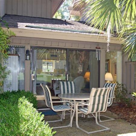 Water Oaks At Palmetto Dunes: Patio