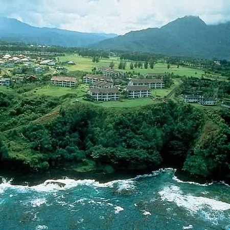 Cliffs at Princeville: Birds Eye View