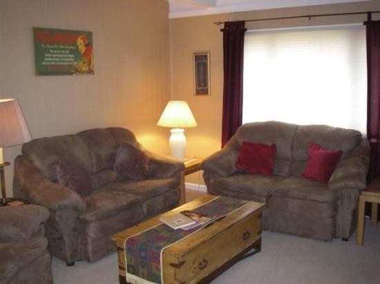 Ski & Racquet Club Condominiums: Living Room